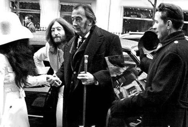 Сальвадор Дали и Джон Леннон