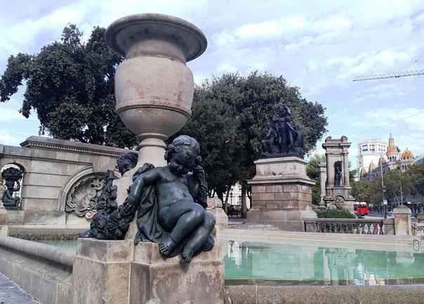 Площадь Каталонии - площади Барселоны