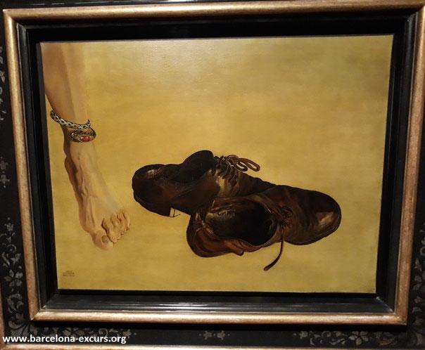 Картины Сальвадора Дали. Первородный грех.