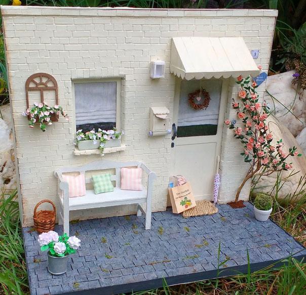 Miniatur-Hauseingang 1:12 basteln