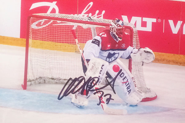 Niklas Backstrom Autograph Autogramm