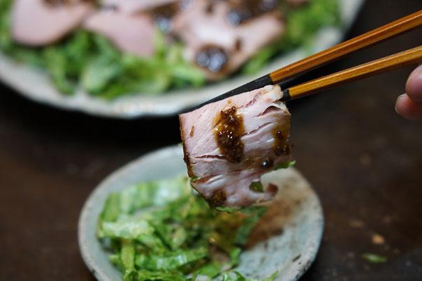 仲本律子 陶芸作家 ブログ 女性陶芸家 茨城県笠間市  豚肉 料理