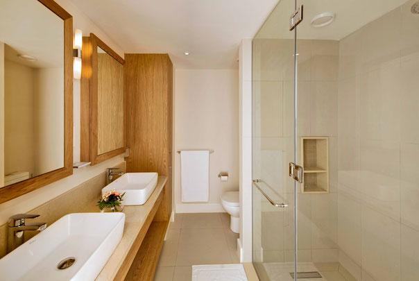 salle d'eau appartement la balise marina vendu meublé livraison 2017