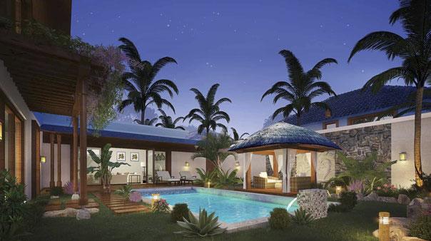 permis de résidence 2019 à l'île Maurice villas à PEREYBERE