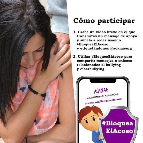 Campaña contra el bullying #BloqueaElAcoso - ACANAE