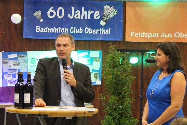 Bürgermeister Stephan Rausch in seiner Rede