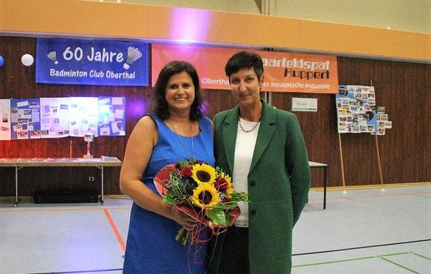 v.l Tina Held und Sabine Steinmetz