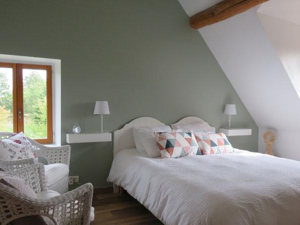 chambre d'hôtes du canal d'Orléans à l'Echappée Belle à Grignon Loiret