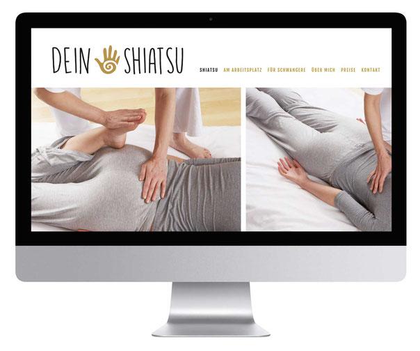 Dein Shiatsu Maass Design Werbeagentur Lüneburg  Werbung Grafik Logo Grafik-Design www.maass-design.de Grafiker