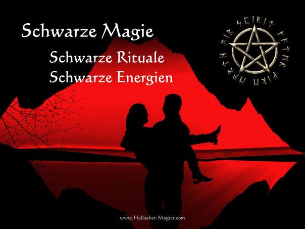 Liebeszauber mit schwarzer Magie für eine glückliche Beziehung