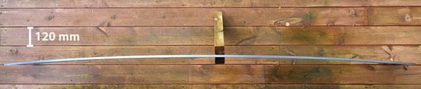 Bøyd ringsegment, 10 mm stål.