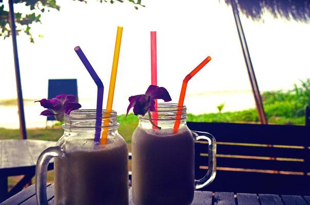 Thailand Krabi Kokosnussmilch
