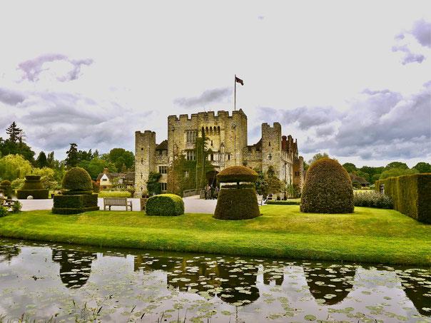 In Leeds Castle italienischer Garten