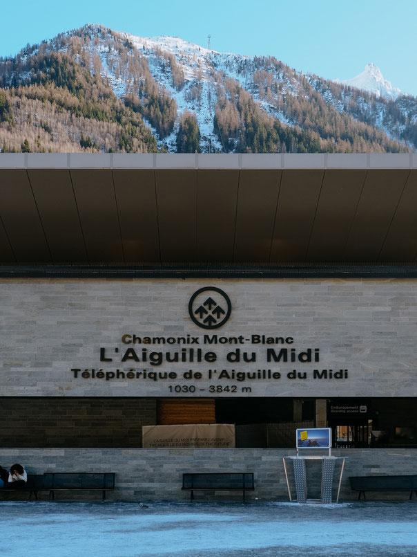 Aiguille du Midi, Gare, Téléphérique, Cable Car (French Alps, Alpes françaises)