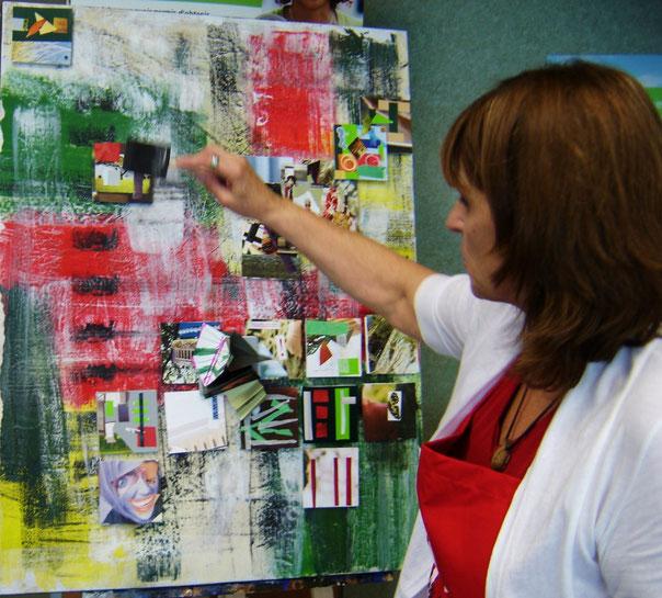 Réalisation d'une oeuvre à la banque TD du Quartier 10-30, Culture pour Tous, Journées de la culture 2010