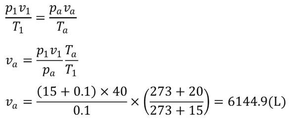 ①の計算手順と計算結果
