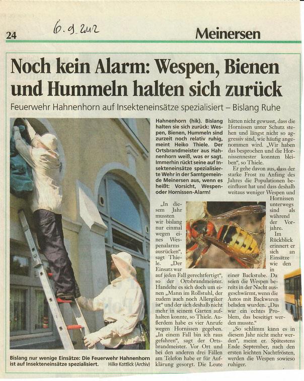 Quelle: Aller-Zeitung 2012