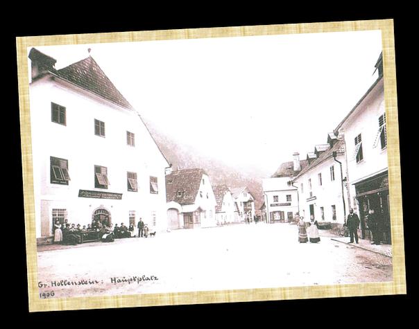 Braubogen, historische Ansicht aus Hollenstein