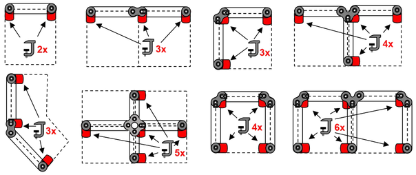 Clip position for desk screen
