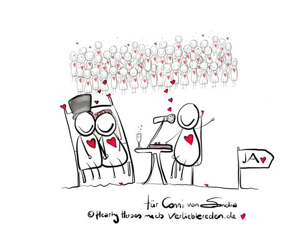 Business-Visualisierung für Conni Köpp von www.verliebtereden.de - warum anstatt vieler Worte sein Business visuell darstellen.