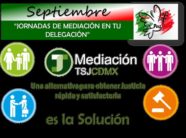 Septiembre #Jornada de Mediación en tu Delegación 2018