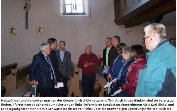 CSU Königstein Hirschbach Klaus Hafner Harald Schwartz Alois Karl Eschenfelden