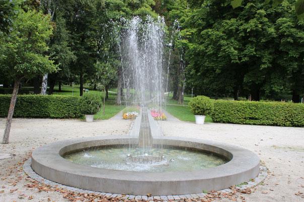 Springbrunnen im Kurpark