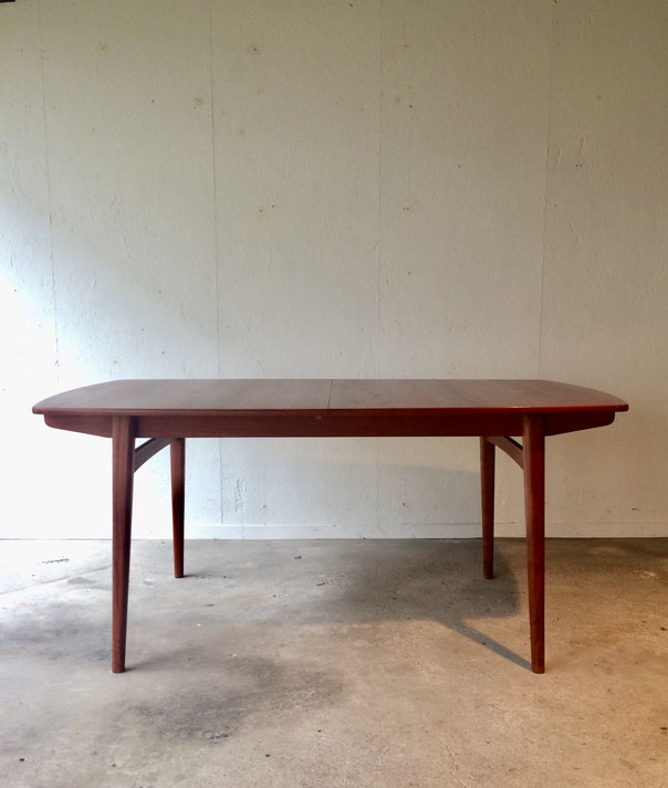 table scandinave, table teck, table vintage