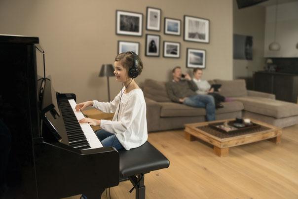 Silent Piano Yamaha woonkamer