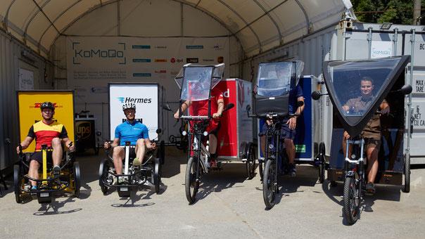 KoMoDo Berlin Einsatz von Mikro-Depots und Zustellung per Lastenrad auf der letzten Meile