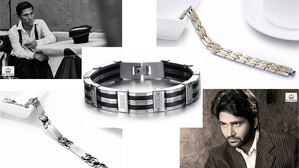 bracelet homme clic tendance