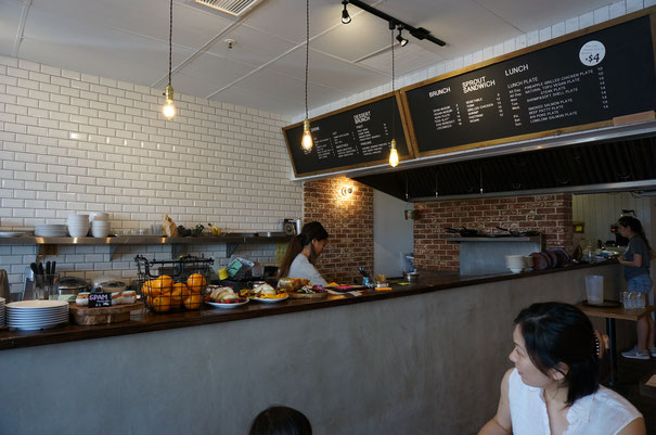 sunnydaysさんの店内はオシャレなカフェの雰囲気!