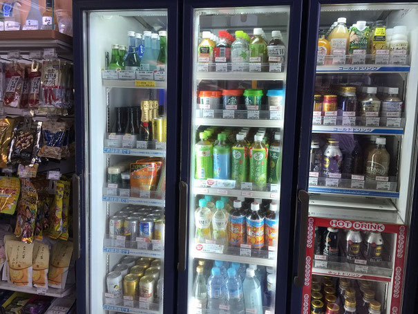 お酒意外は一般的な飲み物が増えた元プレミアムキオスク