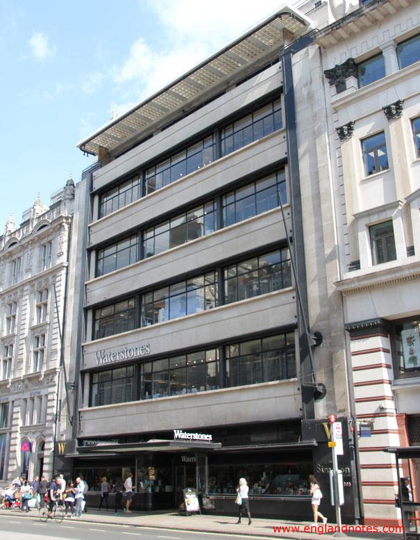 Die 5 besten Buchläden in London: Waterstones Piccadilly