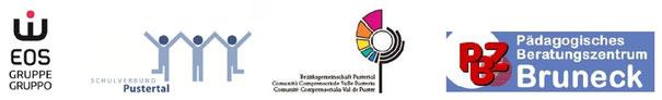 Bündnispartner: EOS, Schulverbund Pustertal, Bezirksgemeinschaft Pustertal, Pädagogisches Beratungszentrum Bruneck