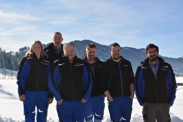 Sandra Schär, Fritz Schär, Bernhard Mühlethaler, Bänz Gerber, Tobias Bärtschi, Stefan Dahinden