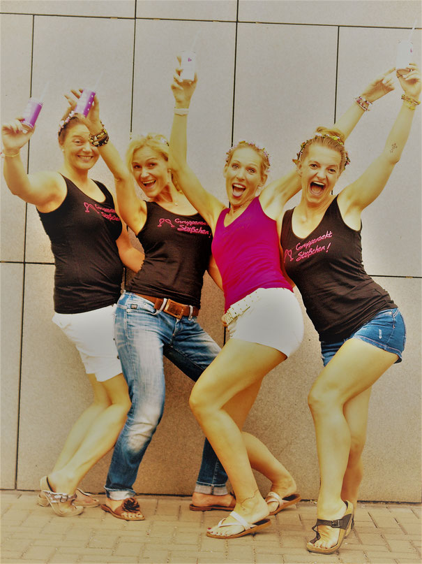 Schmuckworkshop & Fotoshooting für JGA Bonn im Atelier glamourös feiern