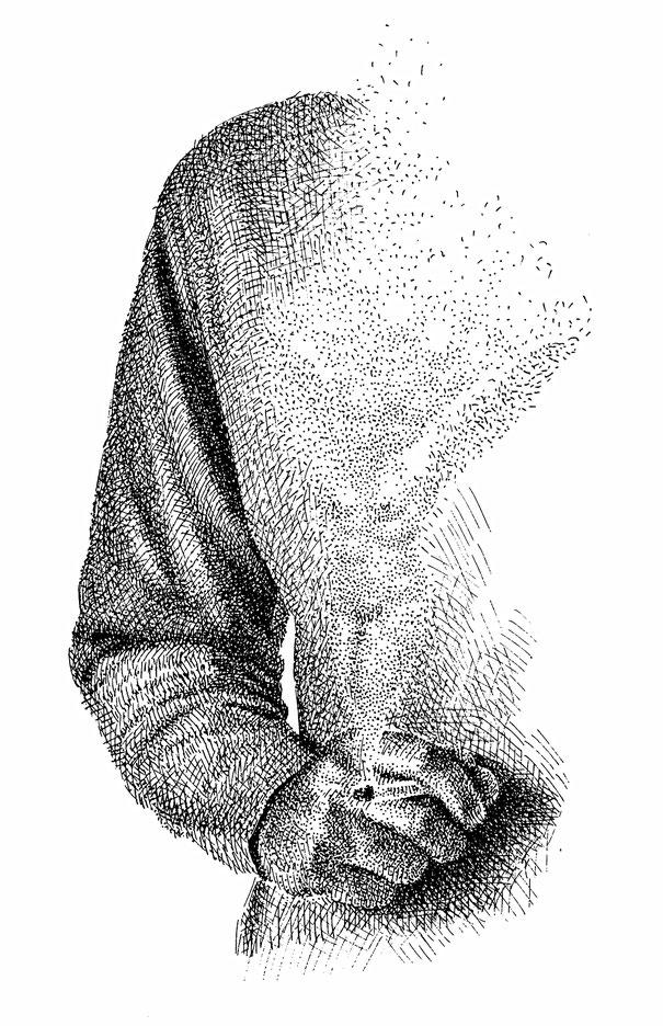 Ilustración a la presentación de este cuaderno de Luna de Abajo número uno (1982)