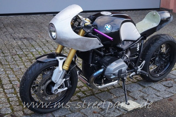 bmw r ninet alu halbschale ms streetparts motorrad. Black Bedroom Furniture Sets. Home Design Ideas