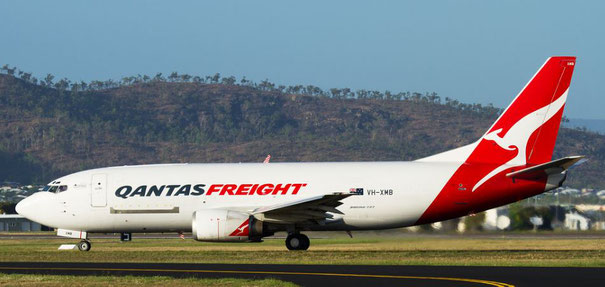 Qantas wants to replace their aging B737 freighter aircraft  -  company courtesy