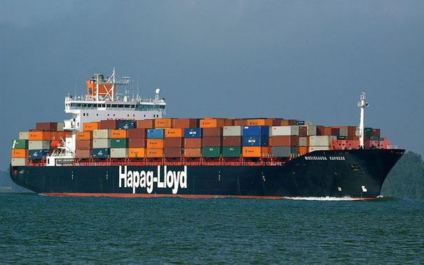 "Vessels such as the Mississauga Express"" (2.800 TEU) will be operated on the new MIAX service  -  photos: H-L"