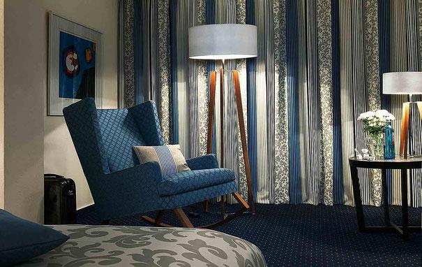Büschking Sichtschutz Vorhang Schlafzimmer Dimout
