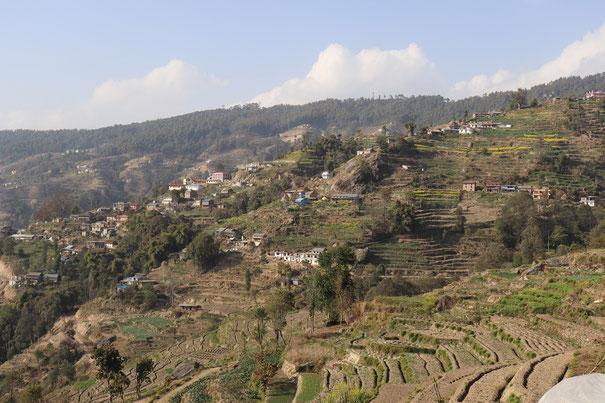 Ridge Trail Katmandu, Nepal