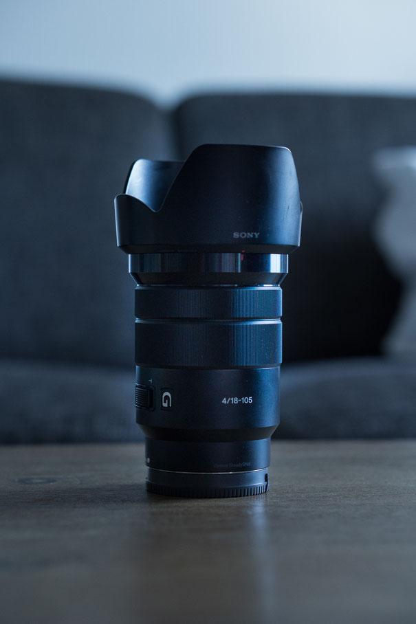 sony objektiv zoom 18 - 105mm