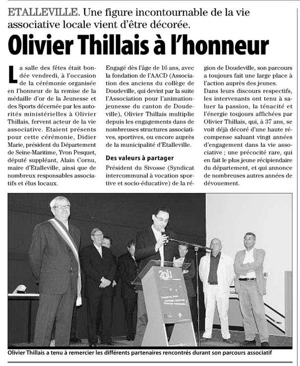PARIS NORMANDIE du 2 juin 2011