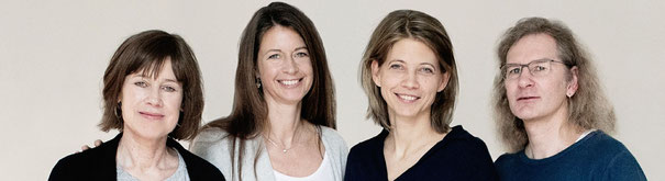 Foto v. l.: Sabine Bergmann, Britta Ibbeken, Katharina Schacht und Dr. Armin Aulinger