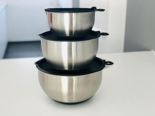 Edelstahl Rührschüssel 3er Set von Pampered Chef®