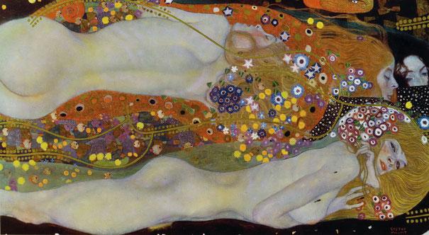 Водяные змеи 2 Густав Климт - самые дорогие картины в мире