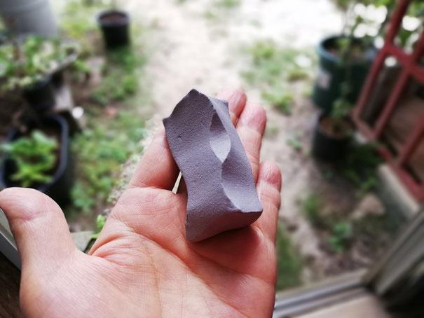 陶芸家 焼き物 陶芸作品 茨城県笠間市 粉引き作品 箸置き スプーンレスト 白い箸置き 削り