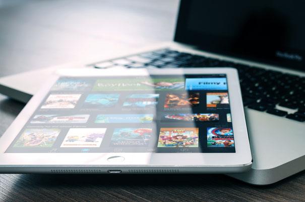 iPad on MacBook